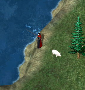 Fishing in <i>Ultima Online</i>