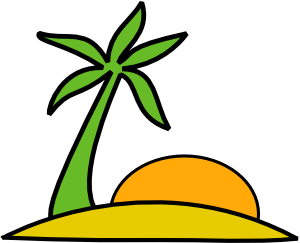 Island_Palm_And_The_Sun_clip_art_medium