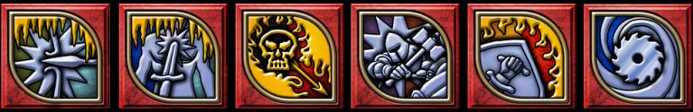 Sampling of Combat Combination Tiles